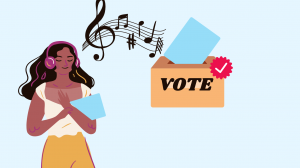 listening to music voting playlist