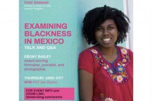 Ebony Bailey PLNU examining blackness poster