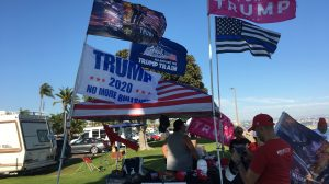 Trump flags San Diego boat parade