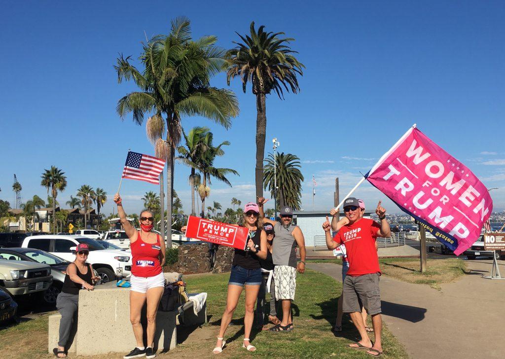 Trump boat parade San Diego