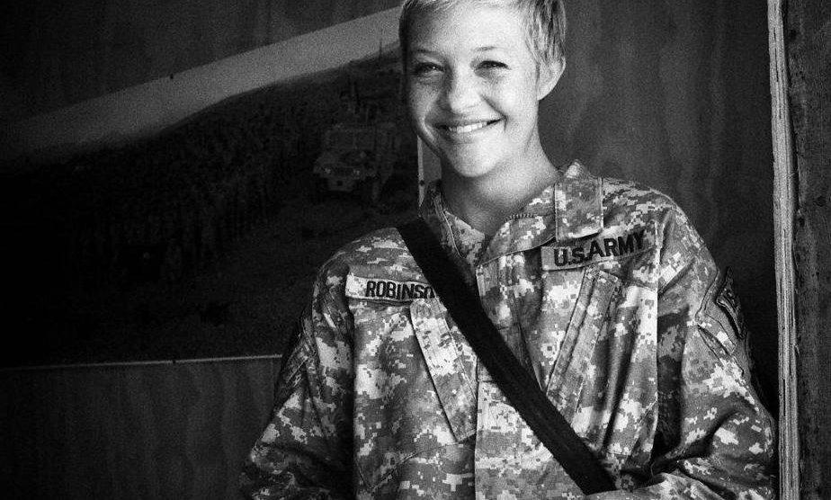 Veteran Amber Robinson
