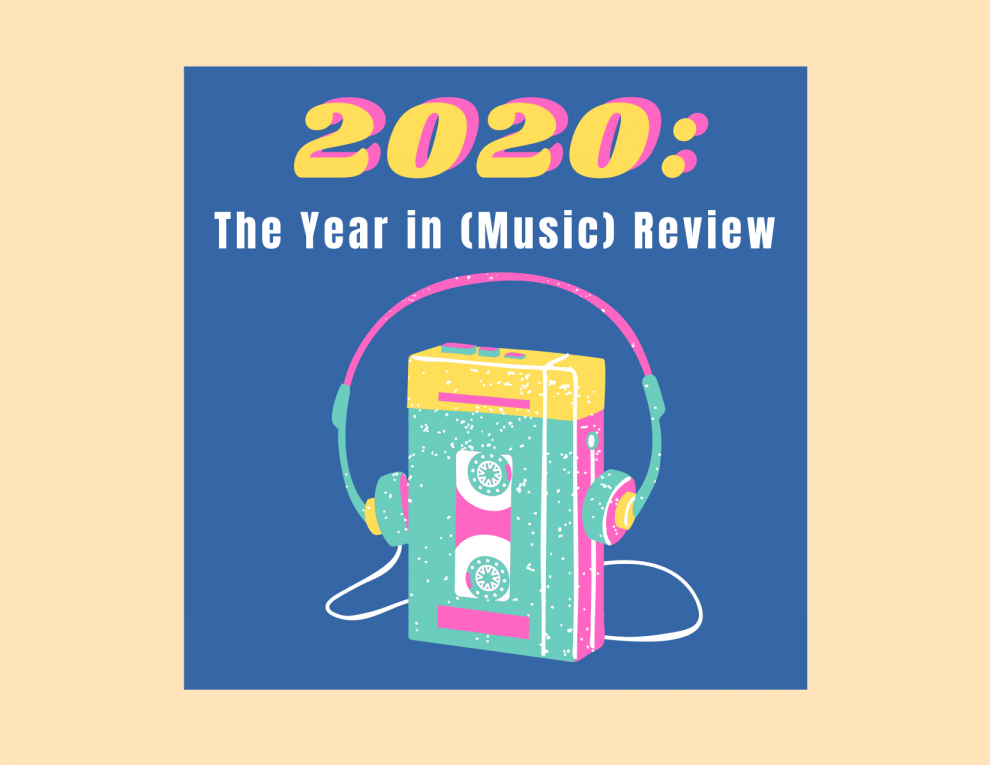 2020 music review cassette tape graphic